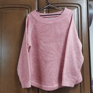 新品 大きいサイズ ピンクセーター(ニット/セーター)