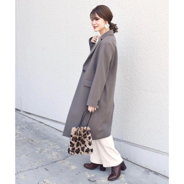 SHIPS(シップス)のみの様専用です。新品タグ付きSHIPS for womenチェスターコート DG レディースのジャケット/アウター(チェスターコート)の商品写真