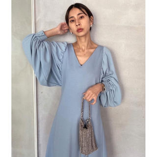 Ameri VINTAGE - CANOPY SLEEVE DRESS アメリヴィンテージ