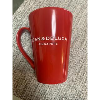 ディーンアンドデルーカ(DEAN & DELUCA)のディーンアンドデルーカ dean&deluca マグカップ 赤 シンガポール限定(グラス/カップ)