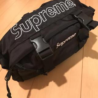 Supreme - supreme ウエストバッグ 19aw 黒 美中古