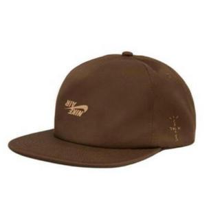 NIKE - 送料込 TRAVIS SCOTT Nike ナイキ ブラウン cap