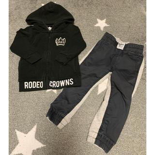 ロデオクラウンズ(RODEO CROWNS)のロデオクラウンズ セットアップXS(Tシャツ/カットソー)