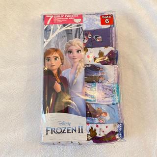 アナトユキノジョオウ(アナと雪の女王)の6歳用 パンツ アナと雪の女王2(下着)
