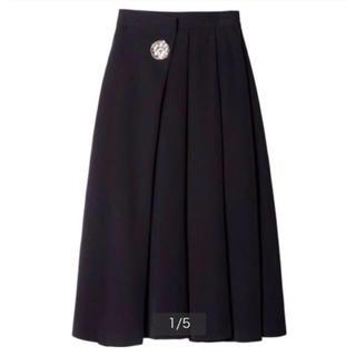 LE CIEL BLEU - ルシェルブルー  メタルプレートスカート