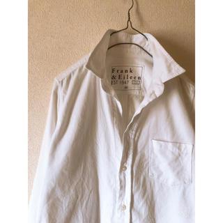 フランクアンドアイリーン(Frank&Eileen)のFrank&Eileen ウィンター ホワイト コットンシャツ XS(シャツ/ブラウス(長袖/七分))