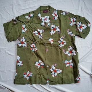 ピンクハウス(PINK HOUSE)のpowder BIG 下迫秀樹パウダー半袖開襟シャツ 中華風子供柄(シャツ)
