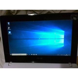 ASUS - モバイル ノート PC ASUS タッチパネル Windows10 美品