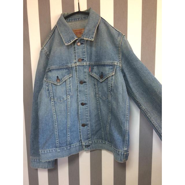 Levi's(リーバイス)の古着 ユーズド     リーバイス  デニムジャケット レディースのジャケット/アウター(Gジャン/デニムジャケット)の商品写真