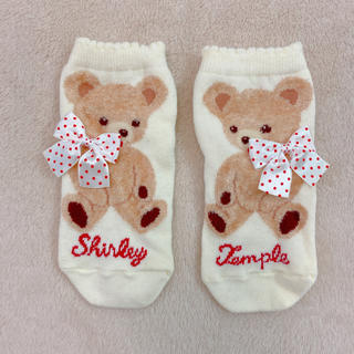 Shirley Temple - シャーリーテンプル  くま 靴下 13-15