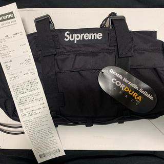 Supreme - supreme ウエスト バッグ 黒