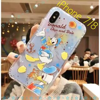 Disney - 〖激安〗iPhone 7/8 凸凹 ドナルド スマホケース✦チップ&デール