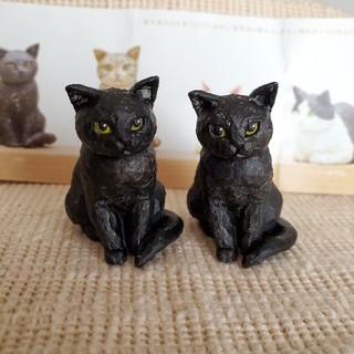 はしもとみお 猫の彫刻 ガチャガチャ