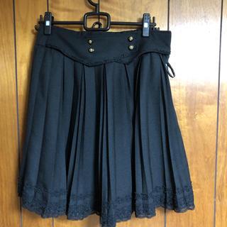 axes femme - 黒のレトロなレーススカート