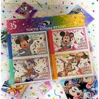 Disney - ディズニー   チケット風 メモ帳セット