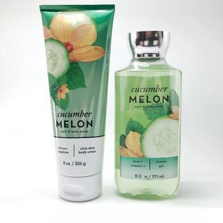 バスアンドボディーワークス(Bath & Body Works)のBBW Cucumber Melon 2点セット(ボディクリーム)