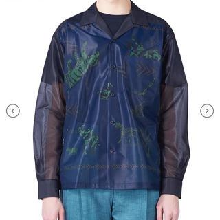 トーガ(TOGA)のtoga virilis 19ss オープンカラーシャツ(シャツ)