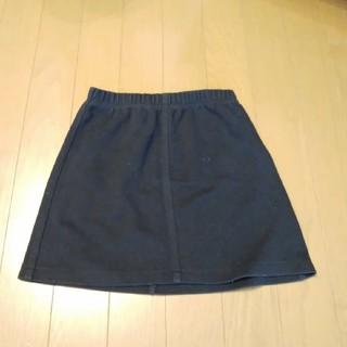 アニエスベー(agnes b.)のアニエスベー 女の子 スカート 黒 130(スカート)