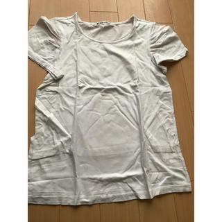 マタニティー(MATERNITY)の授乳服 トップス ホワイト(Tシャツ(長袖/七分))
