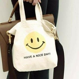 DEUXIEME CLASSE - SMILEY FACE SMILE BAG Deuxieme Classe