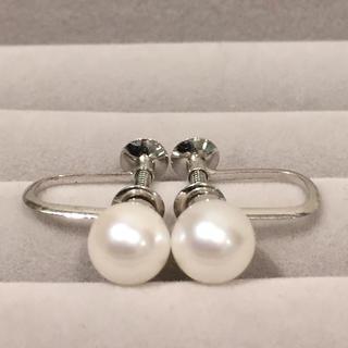 【超美珠】あこや真珠 イヤリング 18Y-205-1