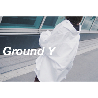 Yohji Yamamoto - Ground Y 19ss オーバーサイズシャツ(White)