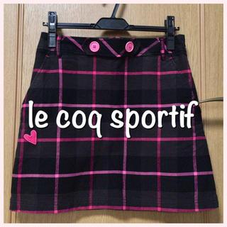 ルコックスポルティフ(le coq sportif)のle coq sportif  スカート(ミニスカート)