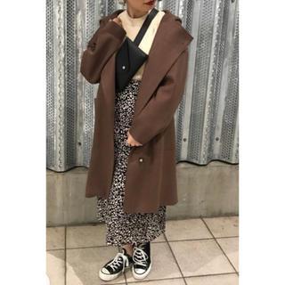 ディスコート(Discoat)のDiscoat 18A/Wジャージーメルトンフードコート12,980円(ロングコート)