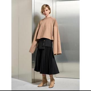 ルシェルブルー(LE CIEL BLEU)の今季 LE CIEL BLEU Layered Pleated Skirt(ロングスカート)