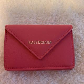 Balenciaga - 本日のみお値下げ・バレンシアガ ペーパーミニウォレット