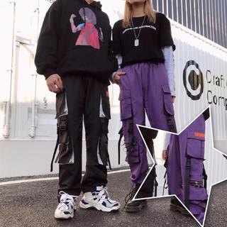 【ユニセックス】今期大人気 カーゴパンツ ストリート系 韓国ファッション