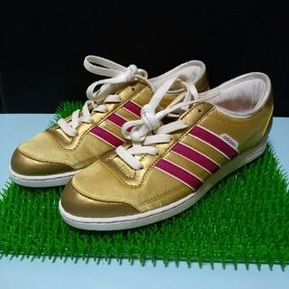 アディダス(adidas)のadidas(アディダス) レディース スニーカー ゴールド 靴(スニーカー)