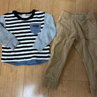 プティマイン(petit main)のプティマイン 男の子 2点セット 100センチ(Tシャツ/カットソー)