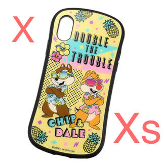 Disney - ディズニー チップ&デール  iPhone X/XS用スマホケース・カバー
