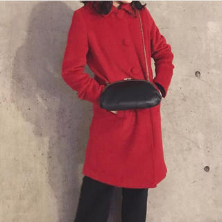 赤コート(ロングコート)