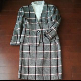 カシミヤ混の上質なスーツ(スーツ)