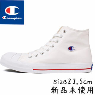 チャンピオン(Champion)のチャンピオン センターコート ハイカット size23.5cm ホワイト(スニーカー)