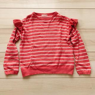 GU - キッズ 女の子 カットソー セーター 120cm
