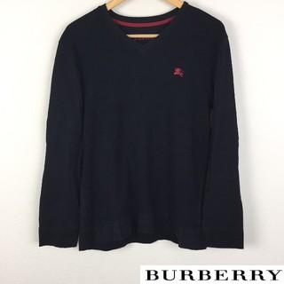 BURBERRY BLACK LABEL - BURBERRY BLACK LABEL 長袖カットソー ブラック サイズ3
