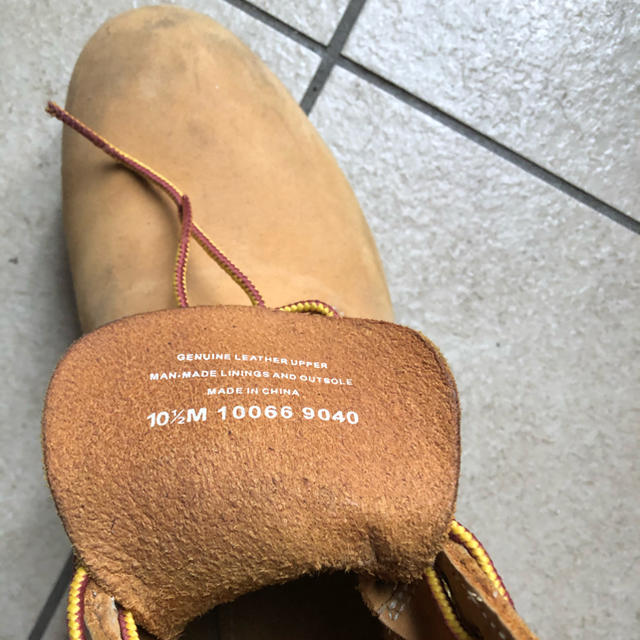 Timberland(ティンバーランド)のティンバーランド ブーツ 10 1/2  28.5cm メンズの靴/シューズ(ブーツ)の商品写真
