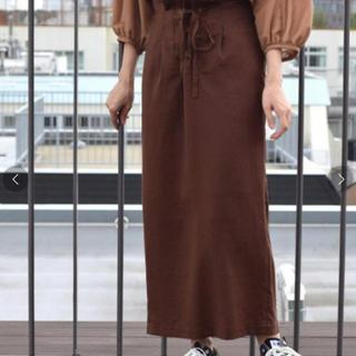ダブルクローゼット(w closet)の新品タグ付 w closet スカート(ロングスカート)