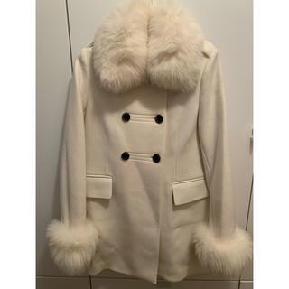 ダブルスタンダードクロージング(DOUBLE STANDARD CLOTHING)のダブルスタンダードクロージング☆フォックスファー コート(チェスターコート)
