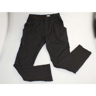 ダブルスタンダードクロージング(DOUBLE STANDARD CLOTHING)のA-722 Wスタンダード パンツ黒38 未使用(カジュアルパンツ)