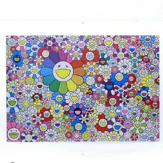 村上隆 フラワージグソーパズル 1000ピース Takashi Murakami