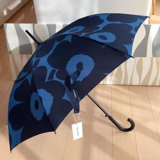 marimekko - 新品 marimekko Stick Pieni Unikko 長傘 ブルー