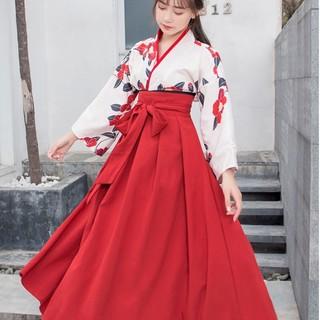 大正ロマン 袴 和装 着物 ドレス ロング 花柄 撮影 ロリータ wlejn