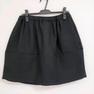 センソユニコ(Sensounico)のUSEDセンソユニコJNBY レギンスパンツに合わせやすいウール混ミニスカート(ミニスカート)