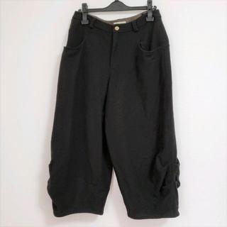 センソユニコ(Sensounico)のUSEDセンソユニコ i+muイム あったか裾サイドくしゅラインリラックスパンツ(カジュアルパンツ)