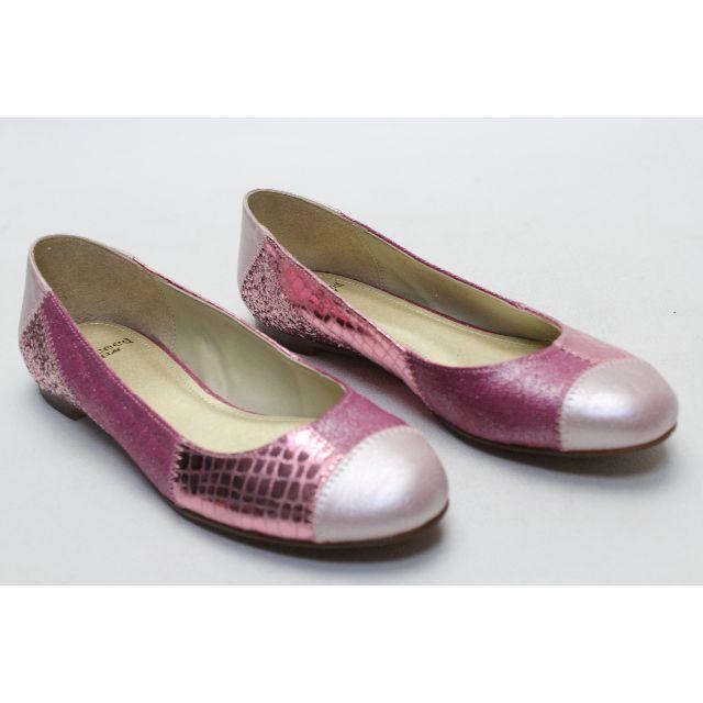 BARCLAY(バークレー)の31■新品♪succeed BARCLAY 本革バレエパンプス(23.5cm) レディースの靴/シューズ(ハイヒール/パンプス)の商品写真