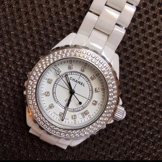CHANEL - CHANEL 腕時計 J12 ホワイト